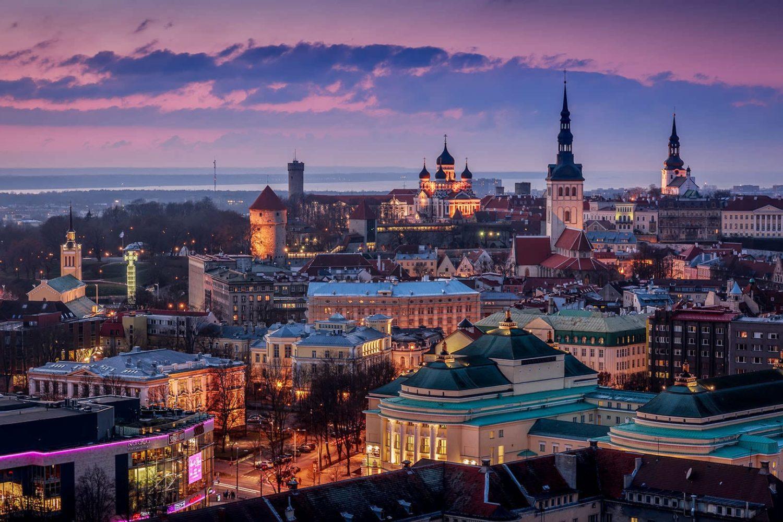 Рига-Стокголм-Таллин без ночных переездов