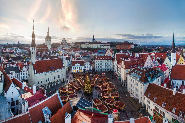 Вильнюс-Рига-Таллин без ночных переездов