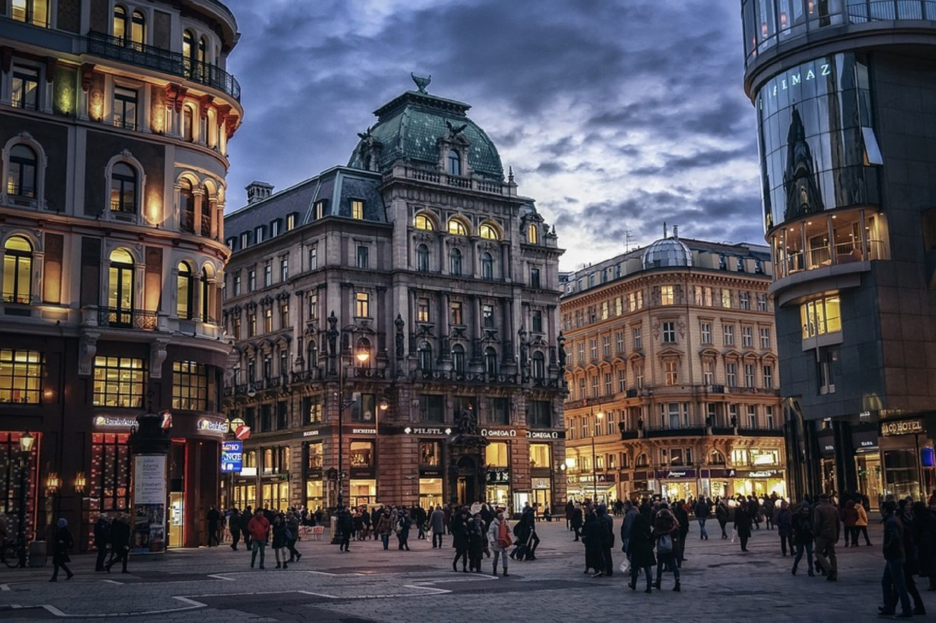 Вена Прага без ночных переездов